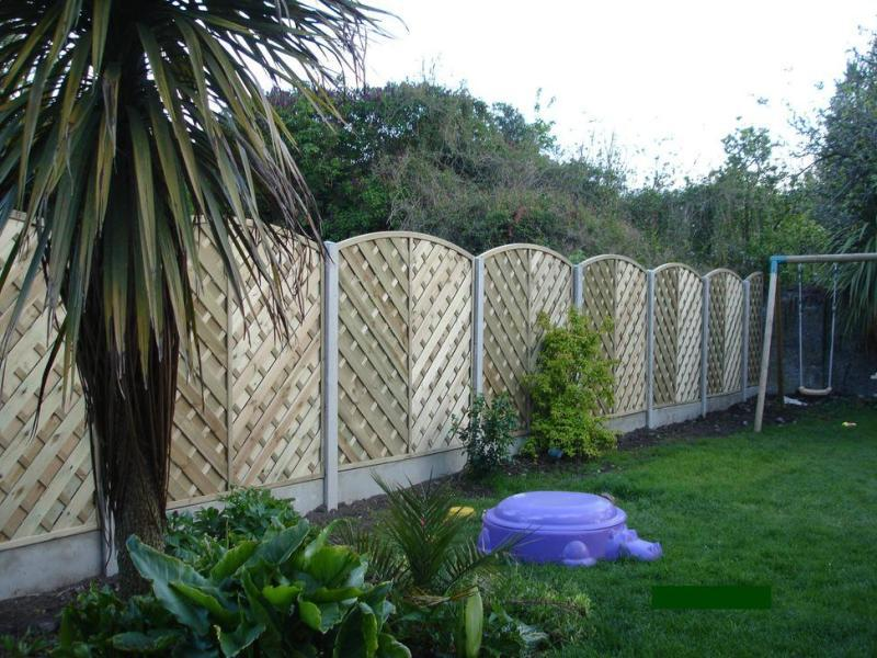Image of: Decorative Garden Fencing Ideas Design