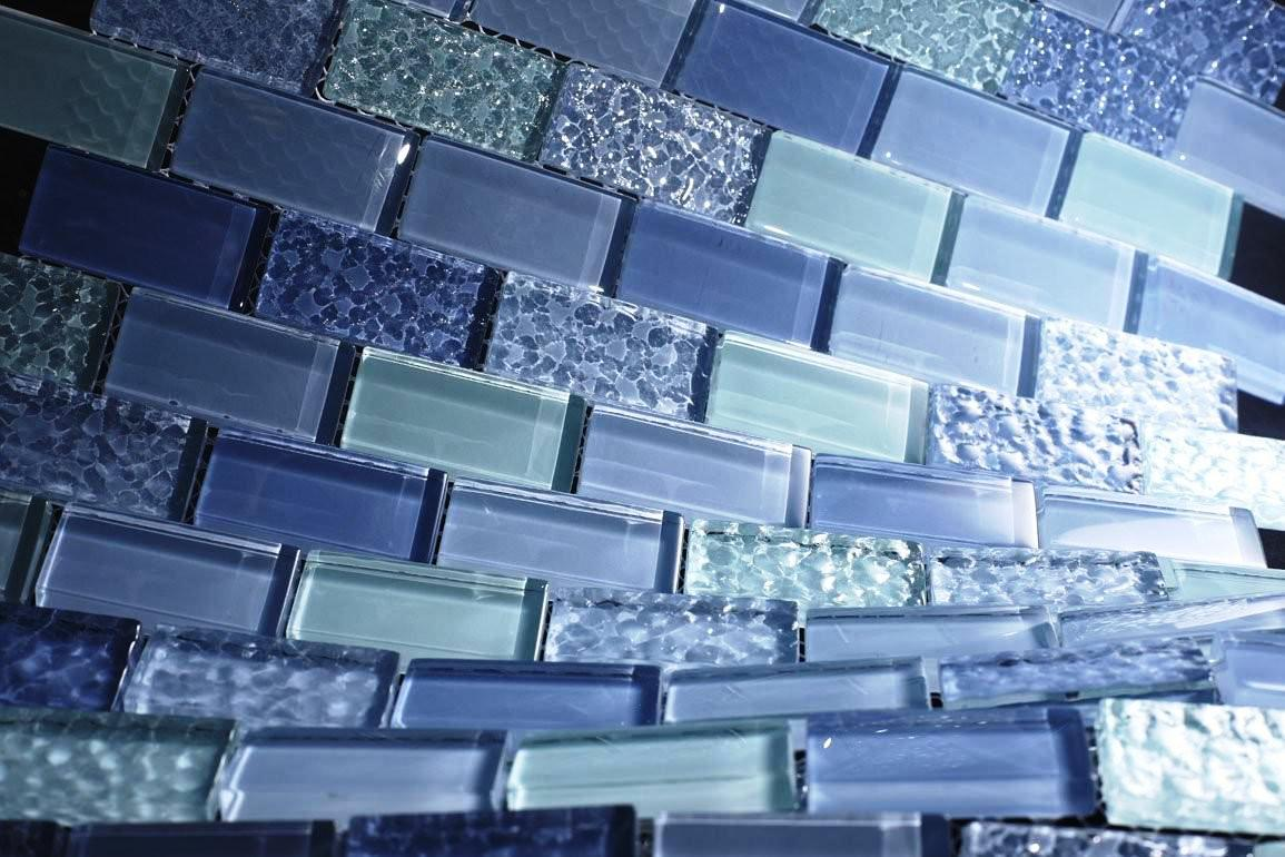 Image of: Glass Wall Tiles