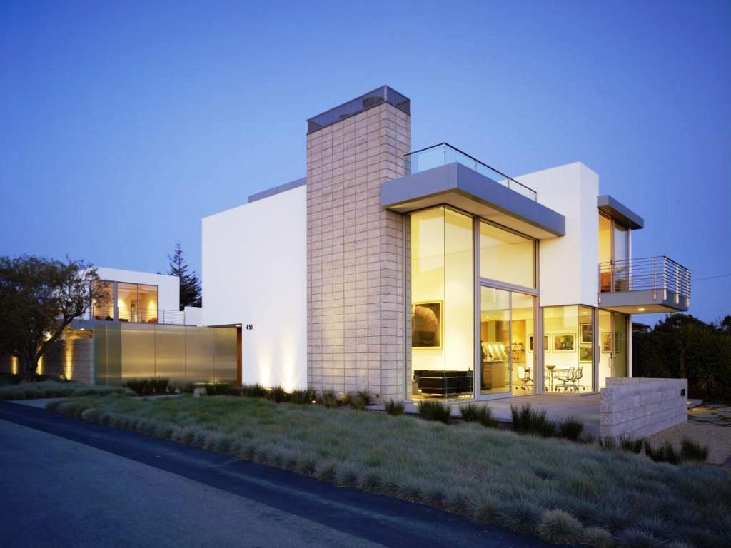 Image of: Modern Houses Pictures