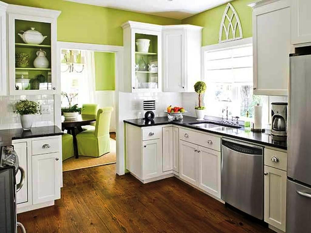 Image of: Paint Colors For Kitchens With Golden Oak Cabinets