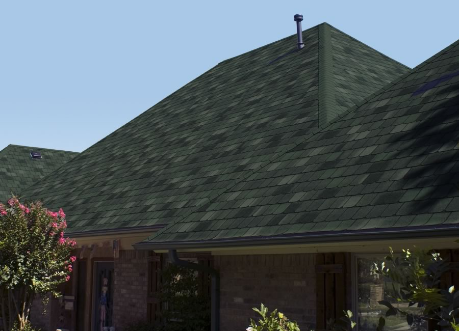 Image of: 3 Tab Roofing Shingles Style
