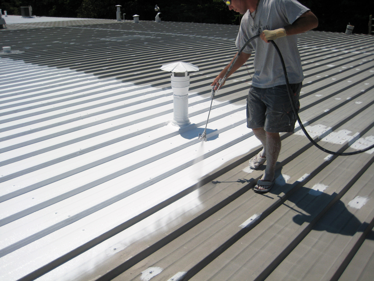 Image of: Acrylic Roof Coating Colors
