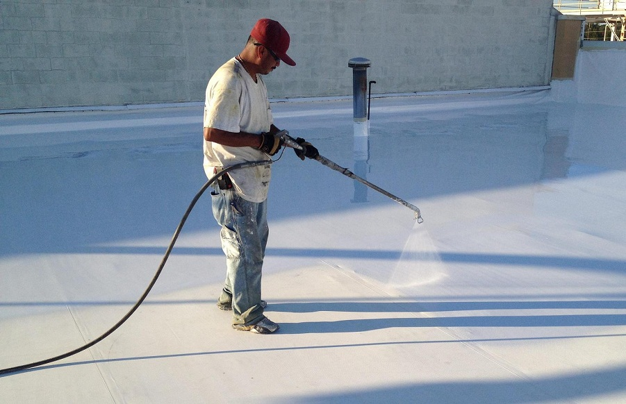 Acrylic Roof Coating House