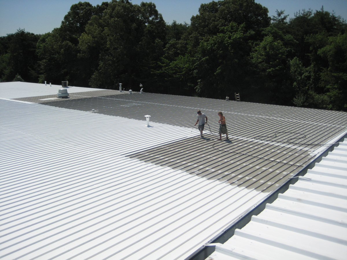 Image of: Acrylic Roof Coating System