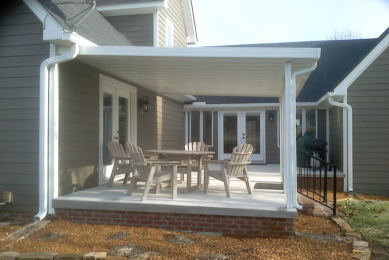 Image of: Aluminum Patio Roof Panels Colors