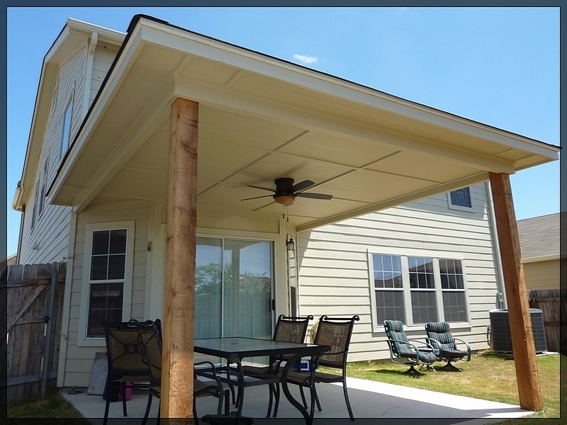 Image of: Aluminum Porch Roof Image