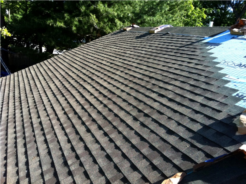 Image of: Asphalt Shingle Roof Cleaning