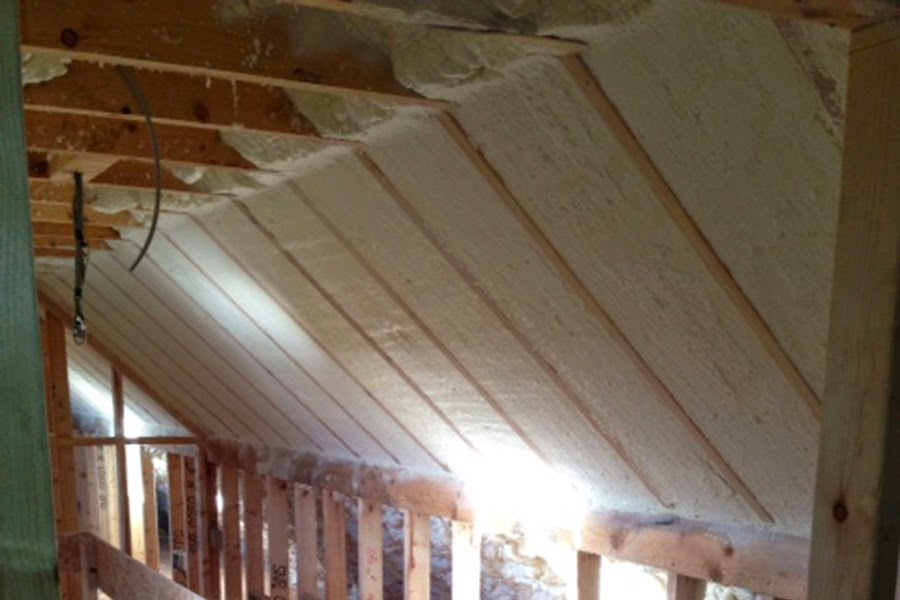Image of: Attic Roof Insulation Image