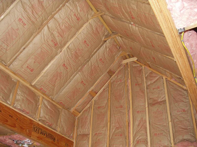 Image of: Attic Roof Insulation Plans