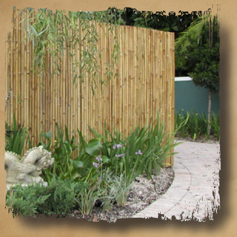 Bamboo Fence Roll Door