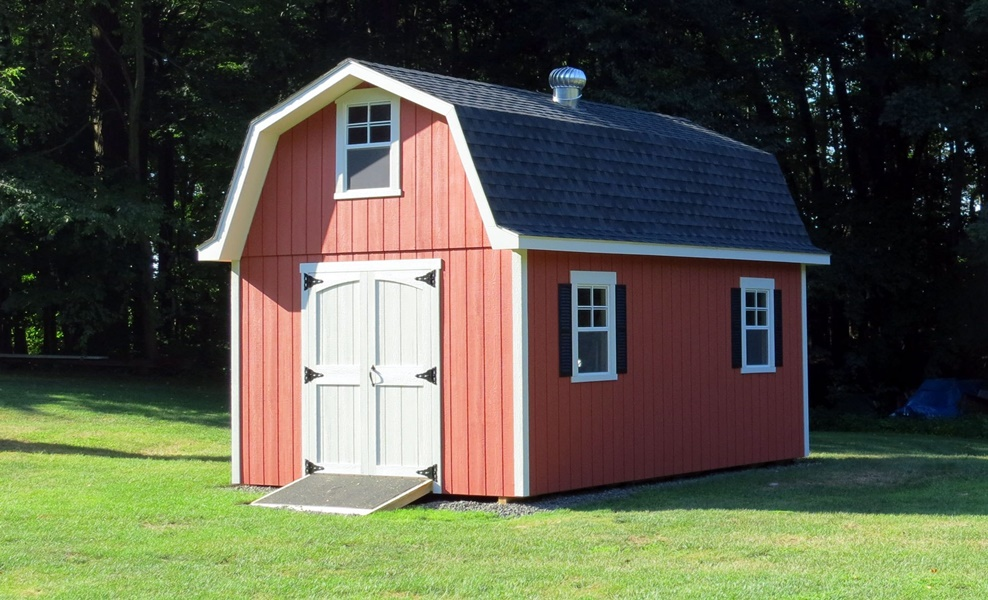 Image of: Barn Style roof Ideas