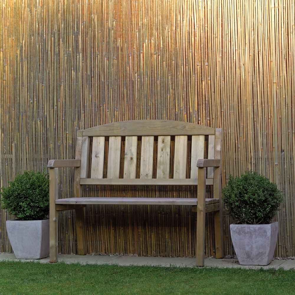 Beauty Bamboo Privacy Fence