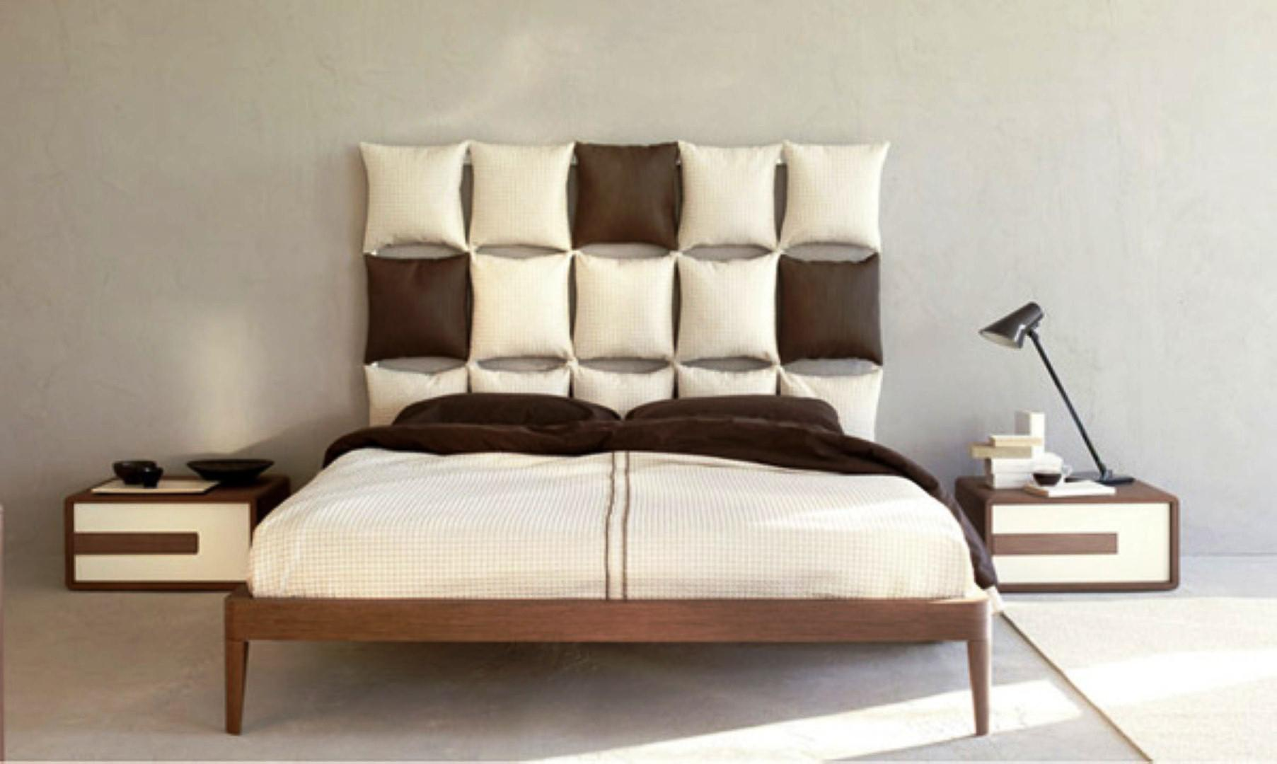 Image of: Bedroom Headboard Wall Design