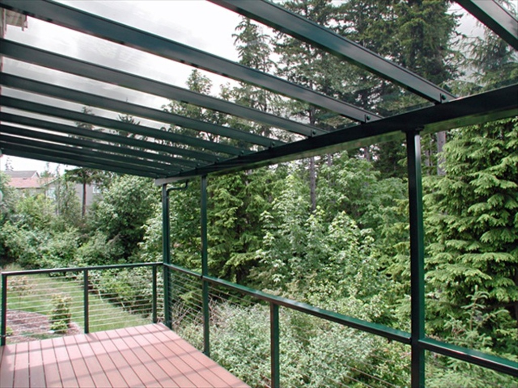 Image of: Best Clear Roofing Panels for Greenhouse