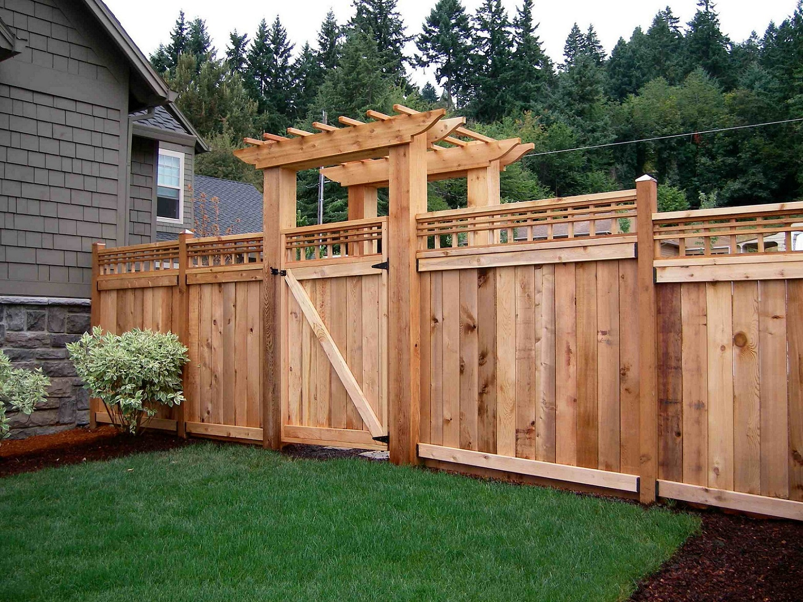 Image of: Best Pallet Fence
