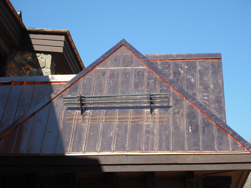 Image of: Black Copper Roofing Sheet