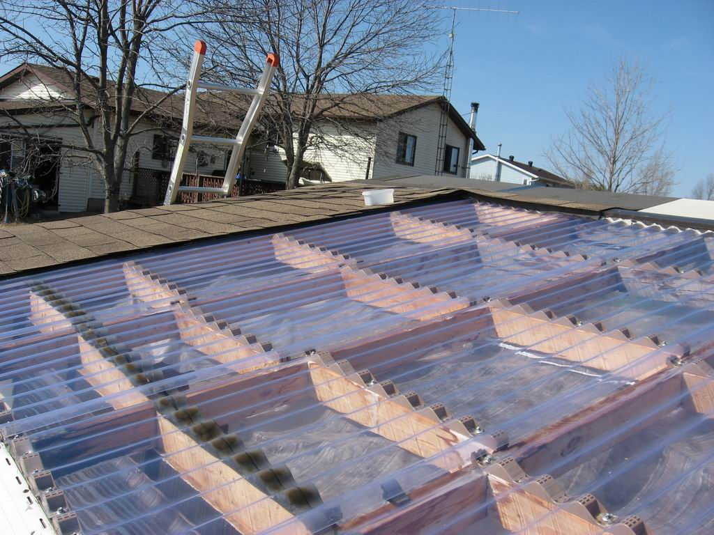 Image of: Clear Roofing Panels for Patio