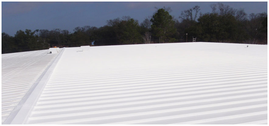 Commercial Acrylic Roof Coating