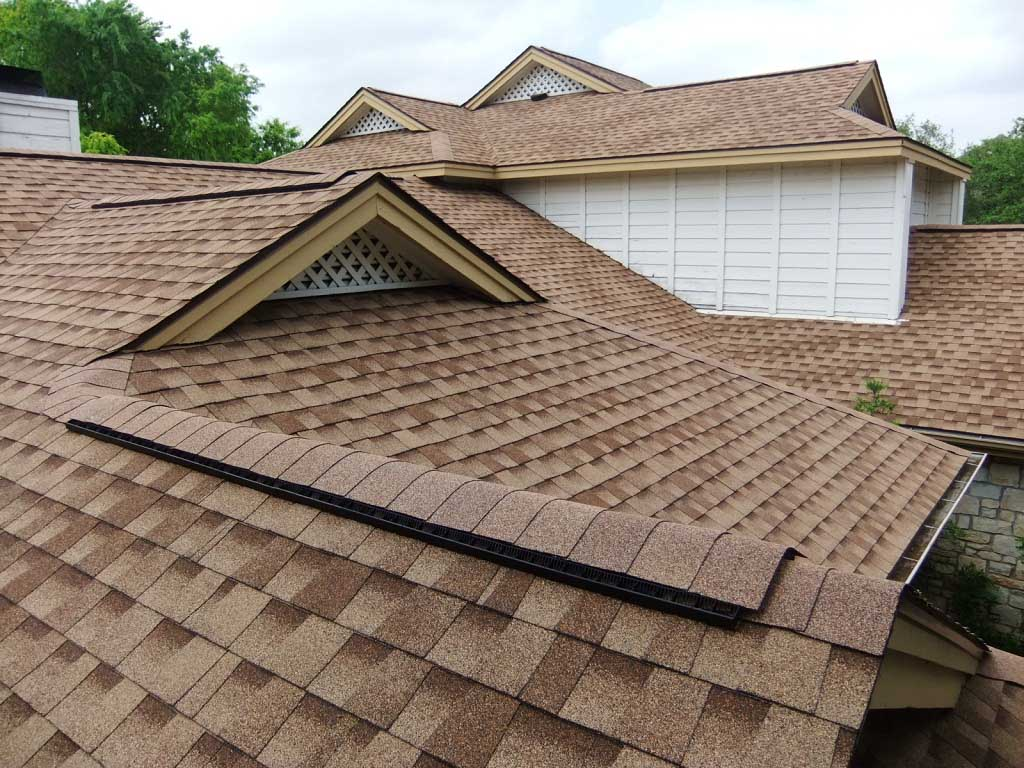 Composite Roof Shingles Brown
