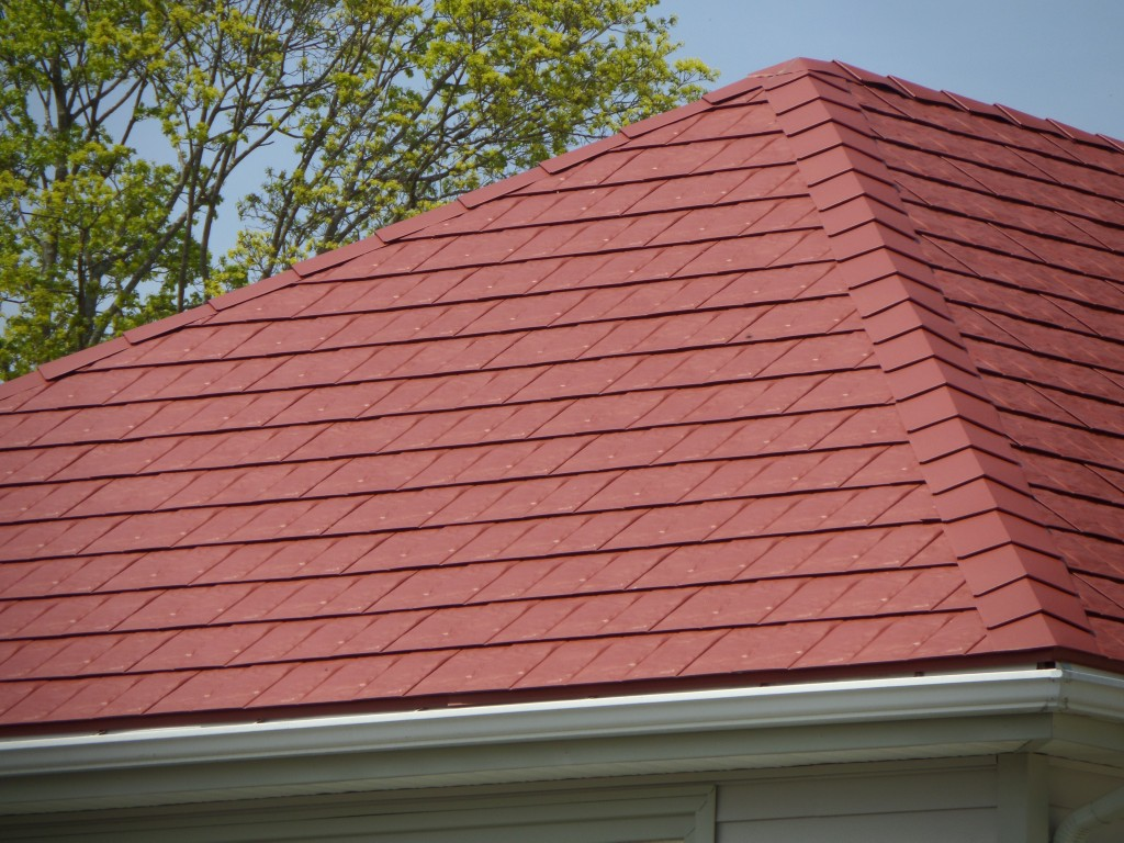 Composite Roof Shingles Red