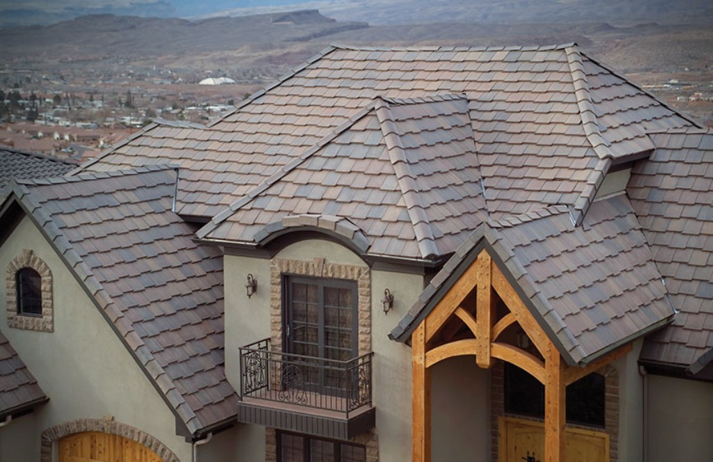 Image of: Concrete Roofing Tiles for Sale in Fontana