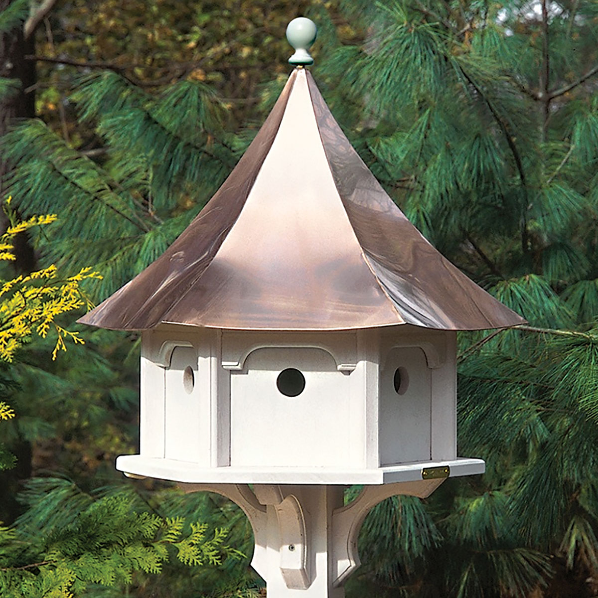 Copper Roof Birdhouse Colors