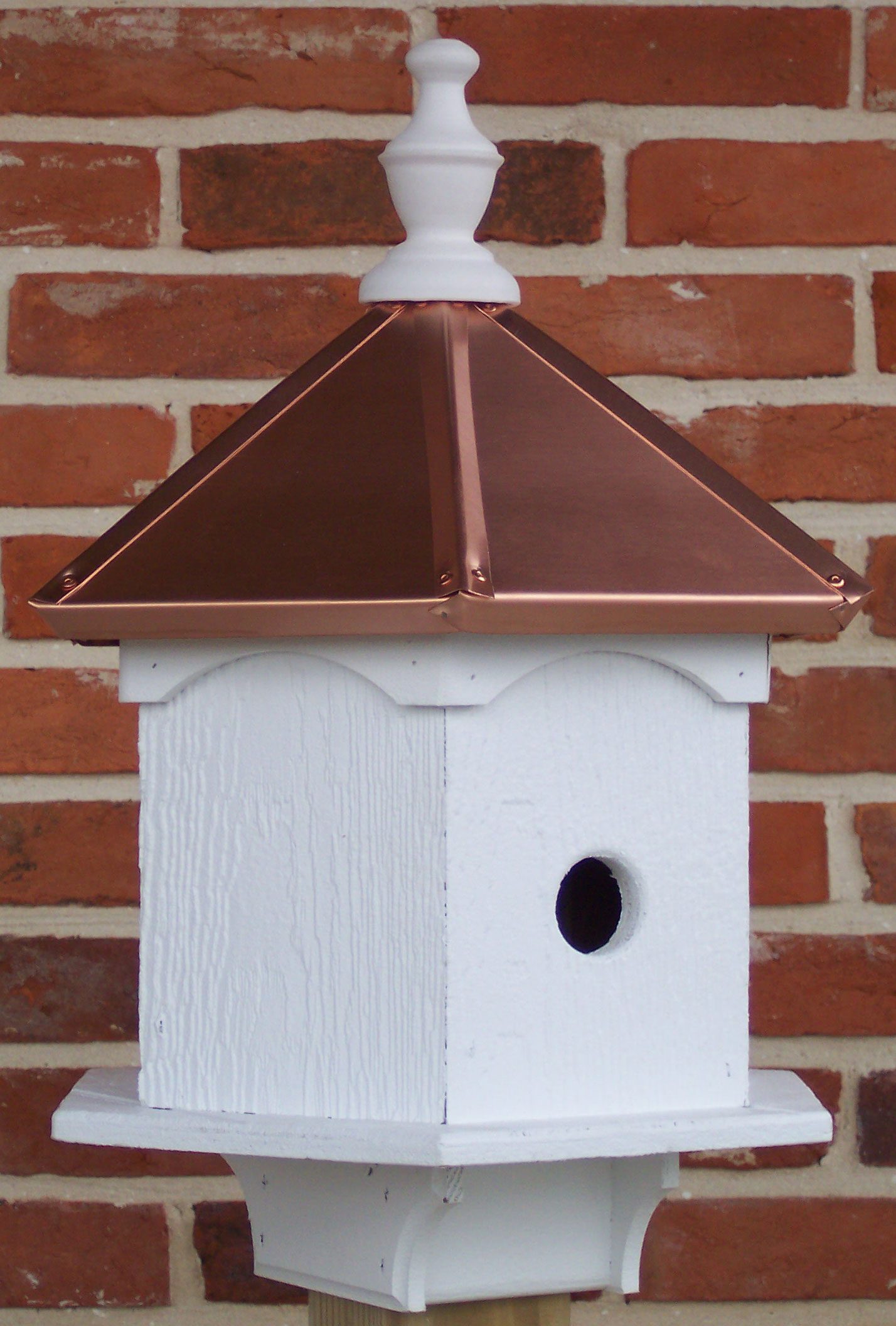 Image of: Copper Roof Birdhouse Style