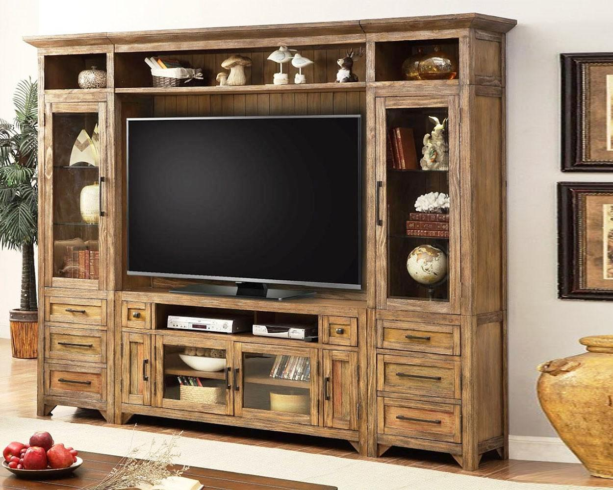 Image of: Entertainment Center Wall Unit