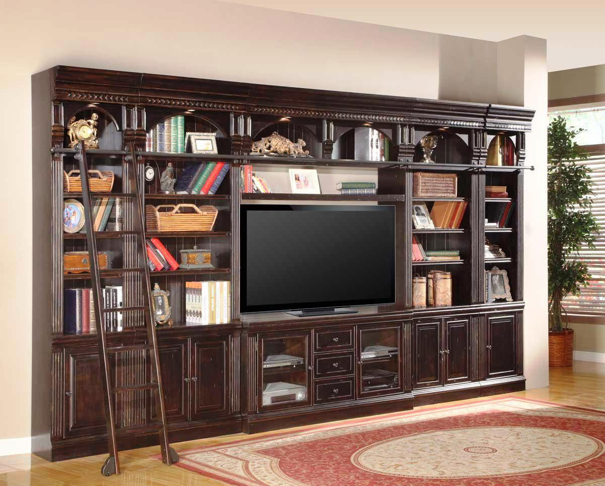 Image of: Entertainment Centers With Fireplace