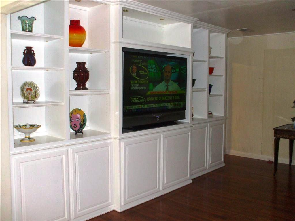 Image of: Entertainment Wall Units For Flat Screen Tv