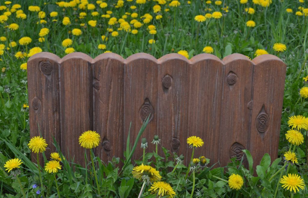 Image of: Garden Border Fence Images