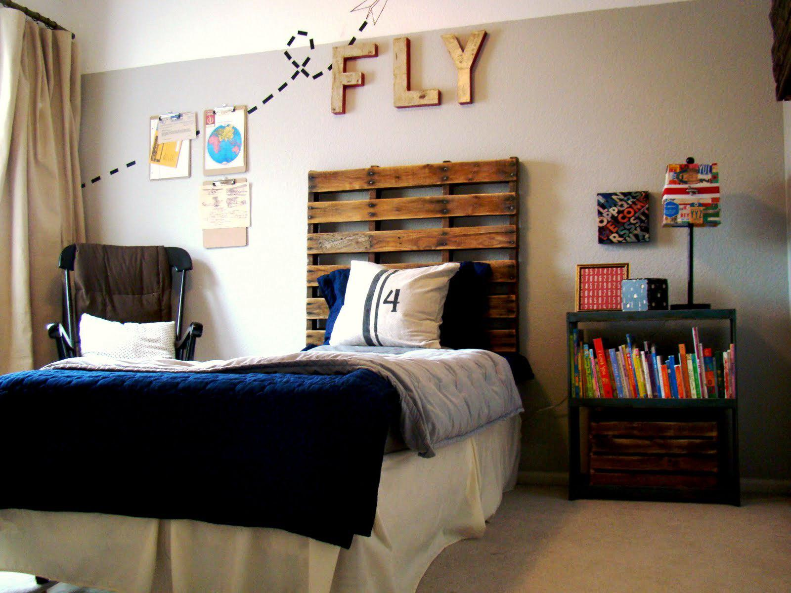 Image of: Homemade Headboard Ideas