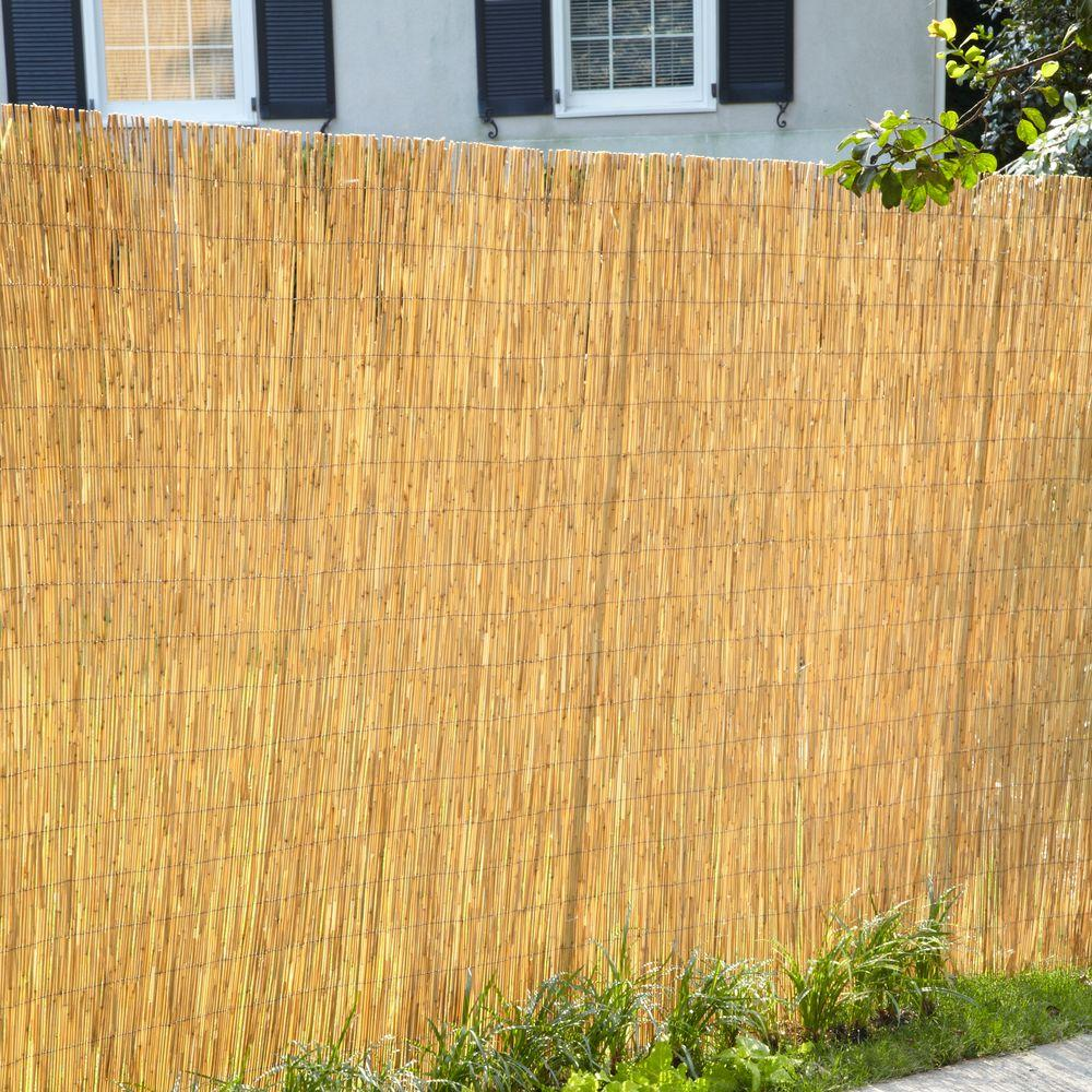 Image of: Ideas Bamboo Privacy Fence