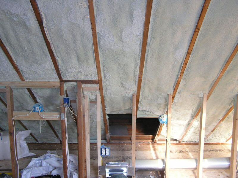 Image of: Ideas of Attic Roof Insulation