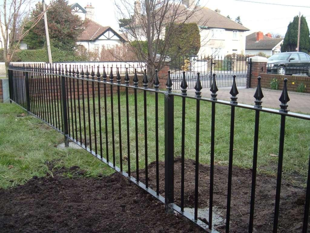 Image of: Iron Fence Accessories