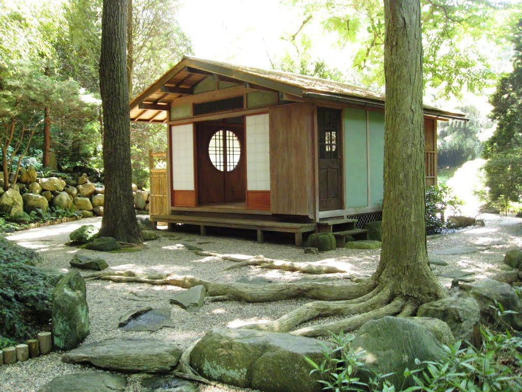 Image of: Japanese Tea House Architecture
