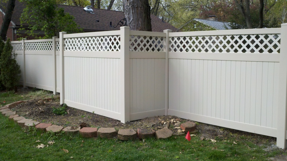 Image of: Large Size No Dig Fence