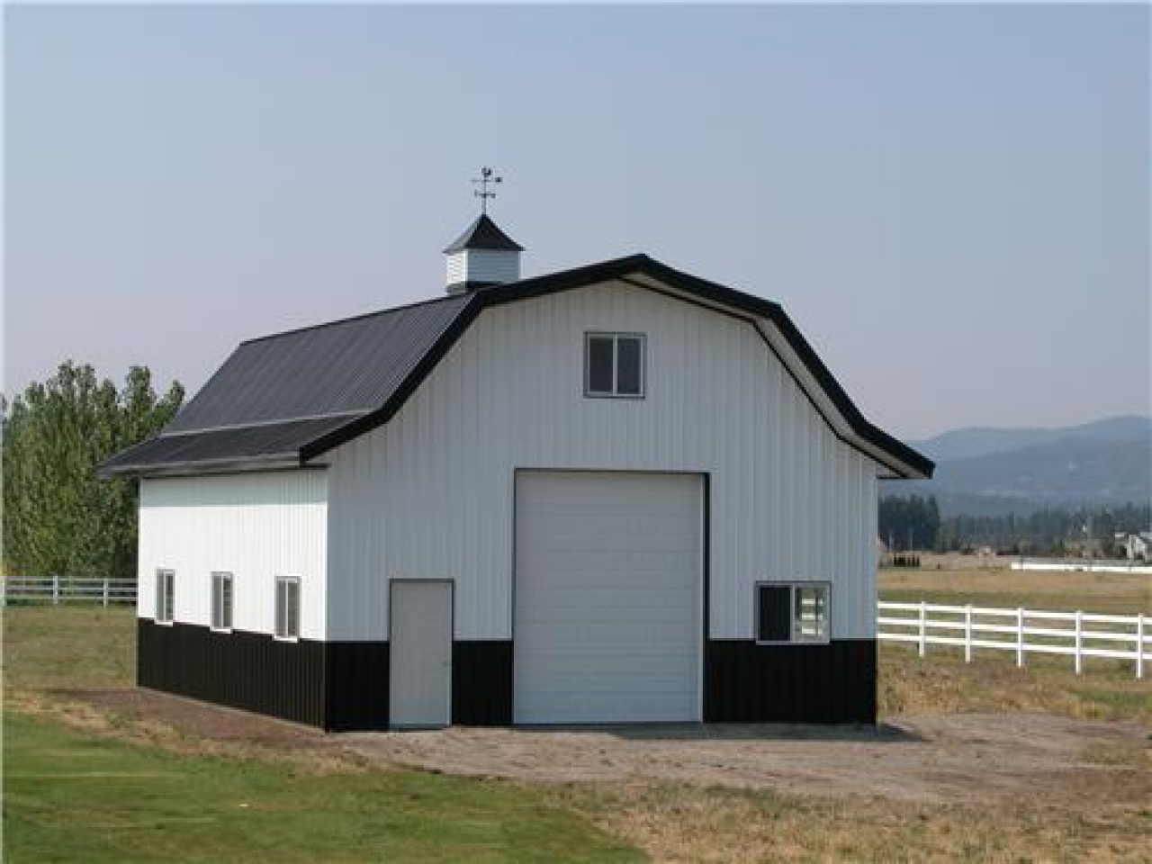 Image of: Metal Barn Style roof