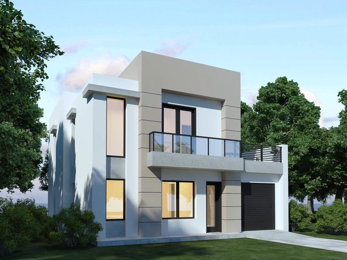 Image of: Modern House Designs And Floor Plans