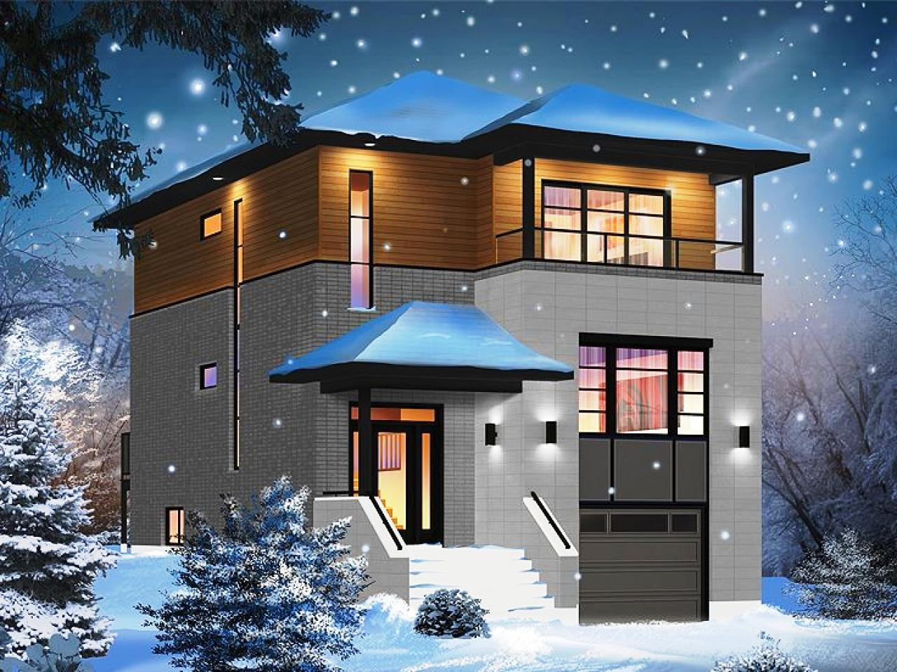 Image of: Modern House Plans Free