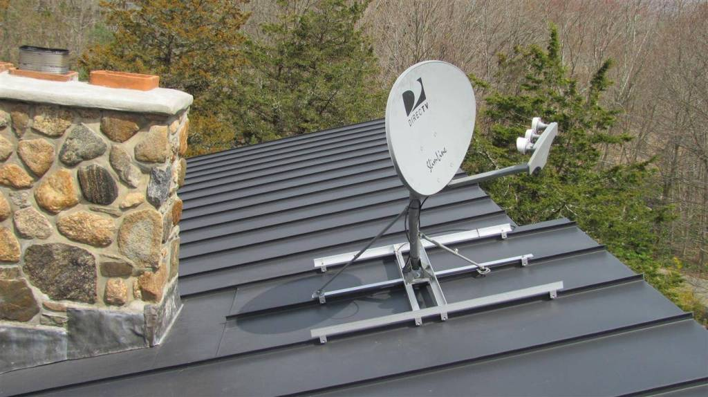 Image of: Modern TV Antenna Roof Mount