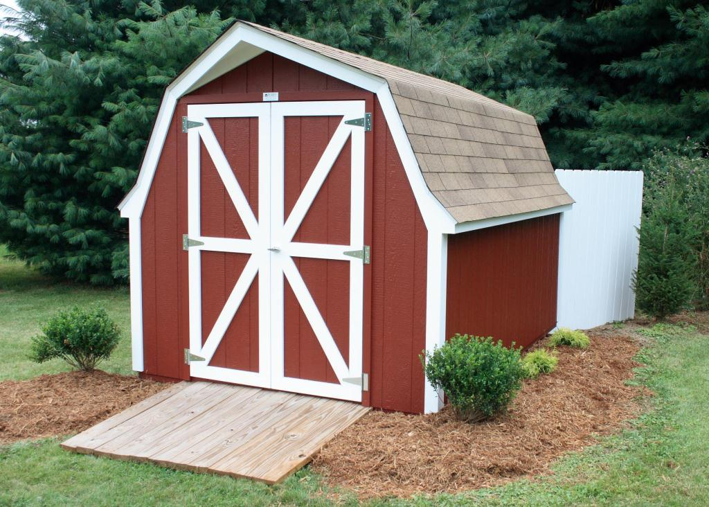 Image of: Nice Barn Style roof