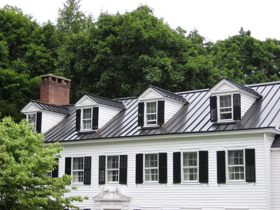 Image of: Picture Aluminum Roofing