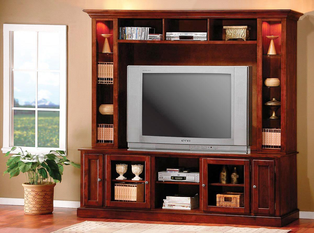 Image of: Pottery Barn Entertainment Center