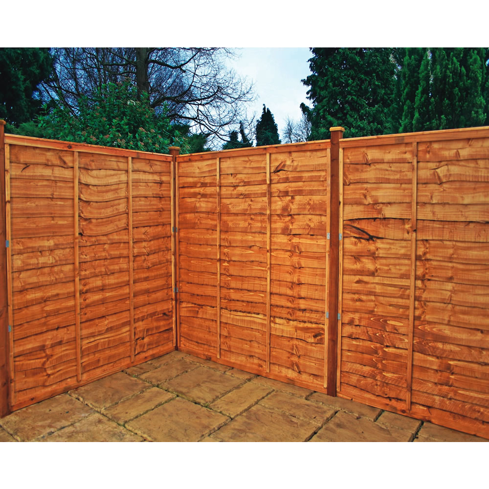 Image of: Simple Bamboo Privacy Fence