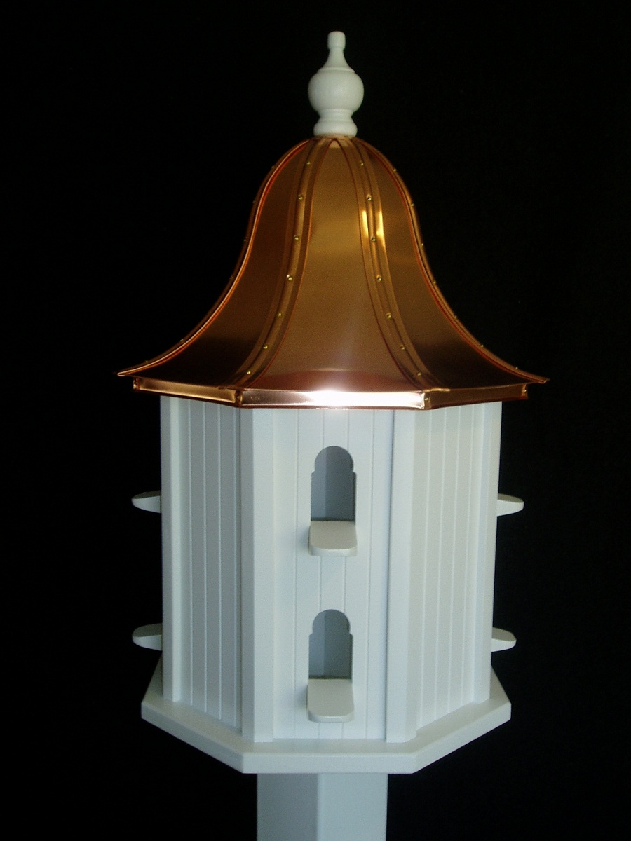 Small Copper Roof Birdhouse