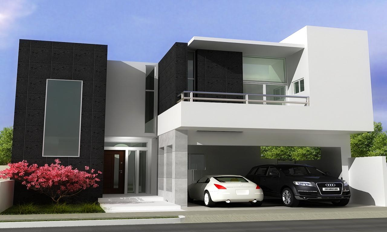 Image of: Small Modern House Designs And Floor Plans