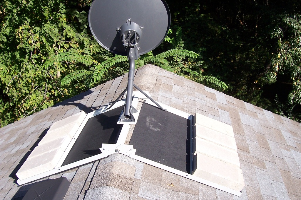 Image of: TV Antenna Roof Mount Bracket