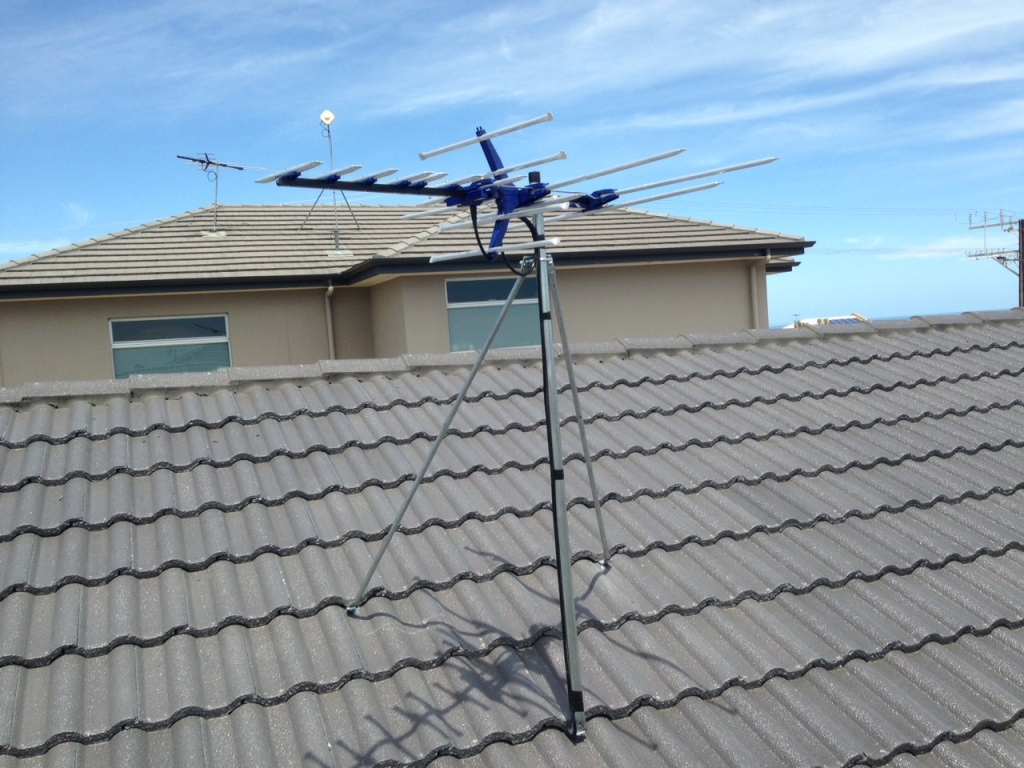 Image of: TV Antenna Roof Mount