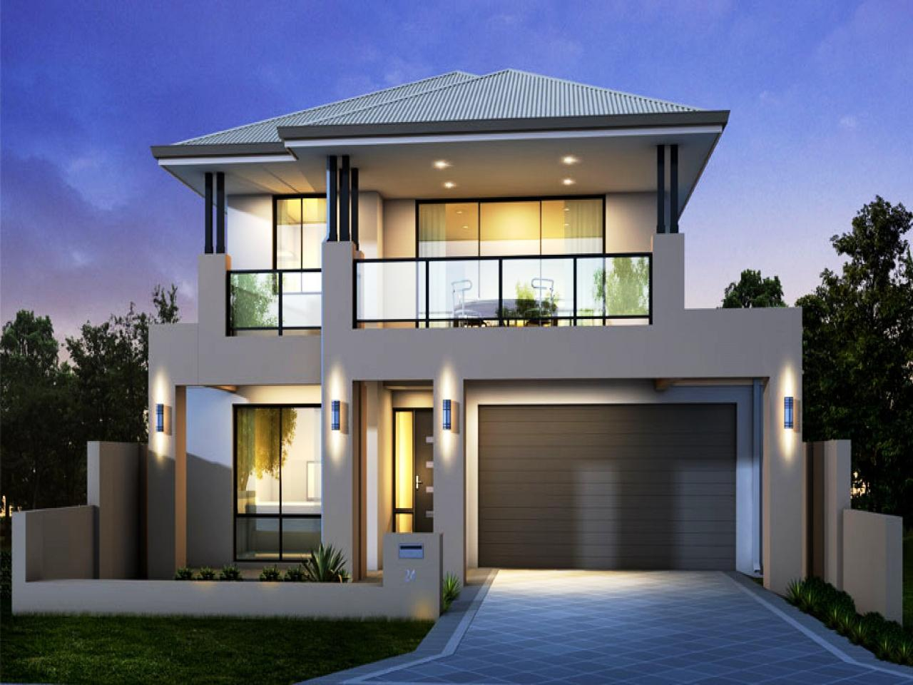 Image of: Ultra Modern House Plans